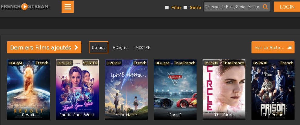 French-Stream est l'un des meilleurs sites de streaming 2018